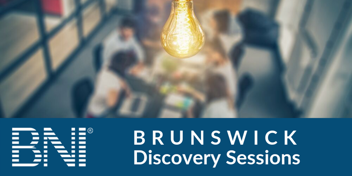 BNI Brunswick Discovery Sessions Event Banner