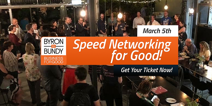 Speed Networking for Good 2  Event Banner