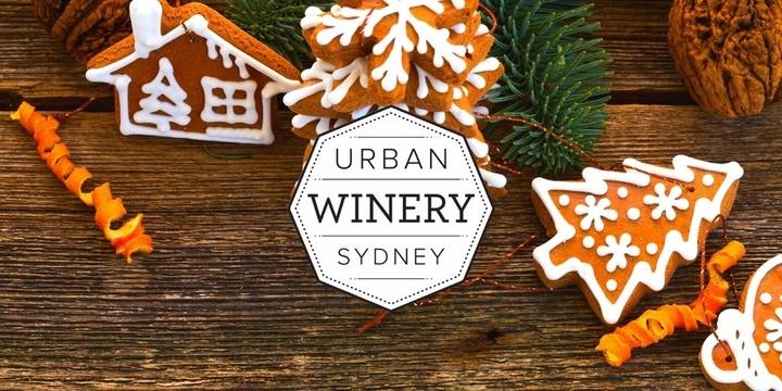 URBAN WINERY SYDNEY'S GINGERBREAD WINE-DERLAND Event Banner