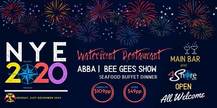 NYE - Waterfront Restaurant Event Banner