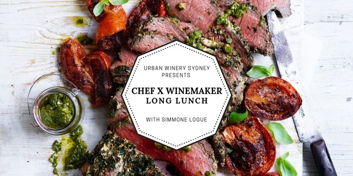 CHEF X WINEMAKER September Long Lunch with Simmone Logue Event Banner