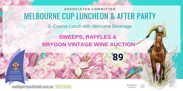 Associates Melbourne Cup Luncheon & After Party Event Banner