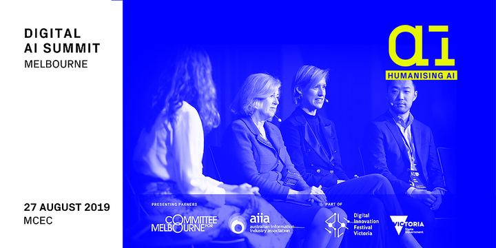 Digital AI Summit | Melbourne 2019 Event Banner