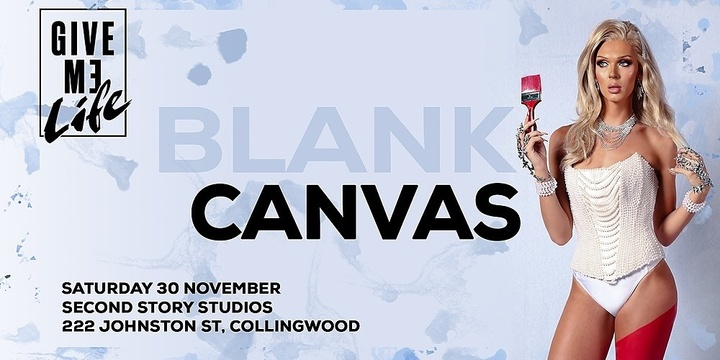 GIVE ME LIFE - Blank Canvas Event Banner