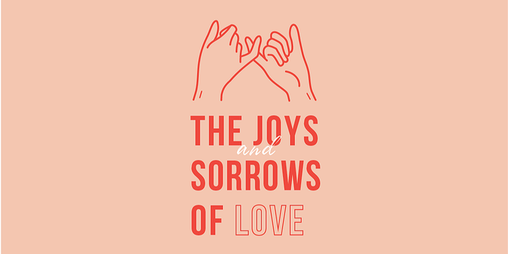 Joys and Sorrows of Love (Sydney) Event Banner