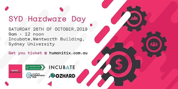 SYD Hardware Day Event Banner