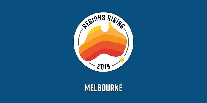 Regions Rising VIC Event Banner