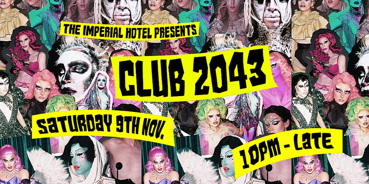 CLUB 2043 Event Banner