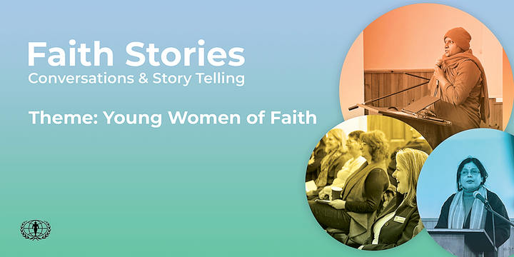 Faith Stories: Conversations & Storytelling Event Banner
