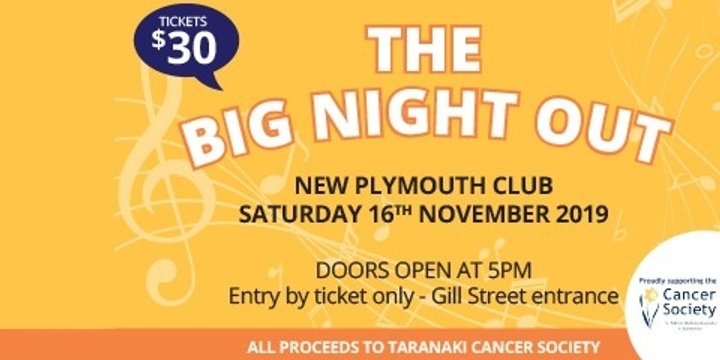 The Big Night Out Event Banner