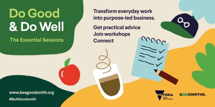 Do Good & Do Well - The Essential Sessions Event Banner