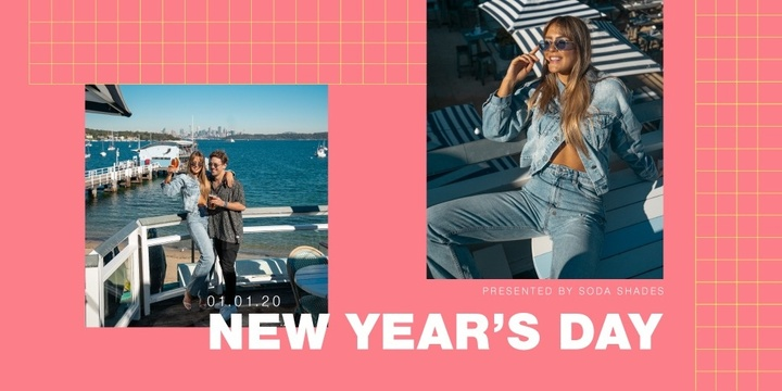 SODA Shades presents NYD at Watsons Bay Boutique Hotel Event Banner