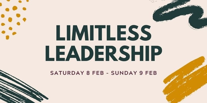 LIMITLESS LEADERSHIP - ADELAIDE Event Banner
