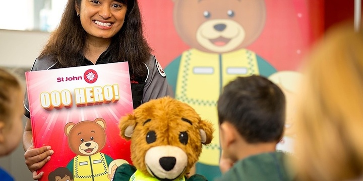 Kids' Central- Early Childhood First Aid with St.Johns Ambulance Event Banner