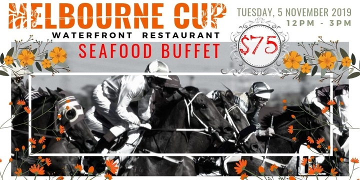 Melbourne Cup Seafood Buffet Event Banner