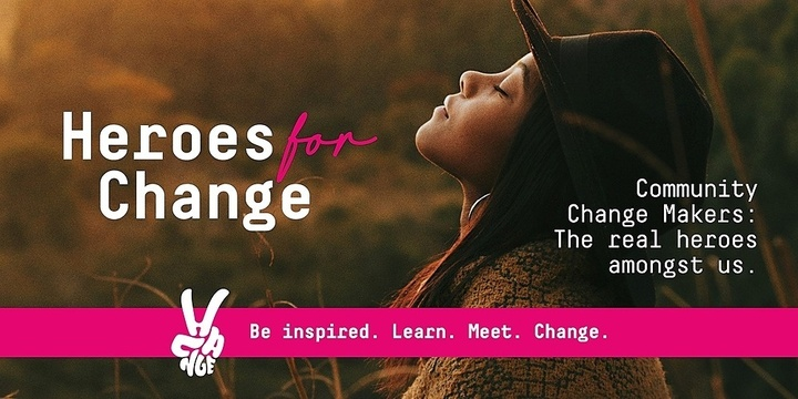 Heroes for Change Night Event Banner