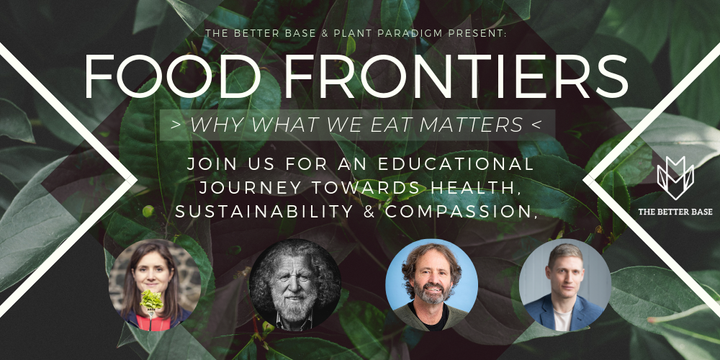 Food Frontiers: Why What We Eat Matters Event Banner
