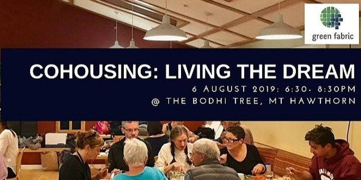 Cohousing - Living the dream Event Banner