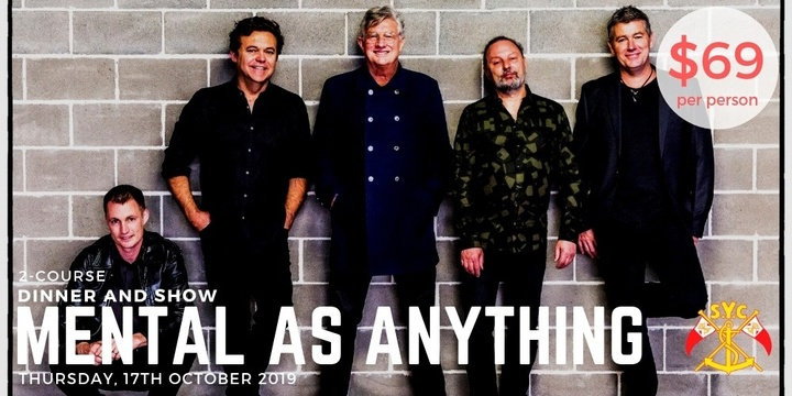 Mental as Anything Event Banner