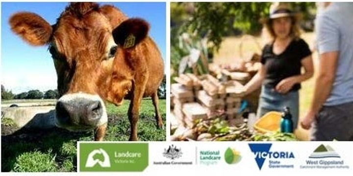 Landcare Victoria Inc. Gippsland Forum: People, Produce and Partnership Event Banner