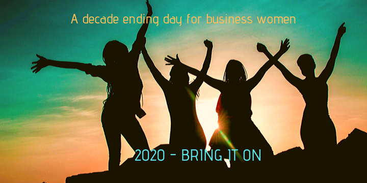 Review, Re-Set, Re-Ignite - An End of Year Gathering for Business Women Event Banner