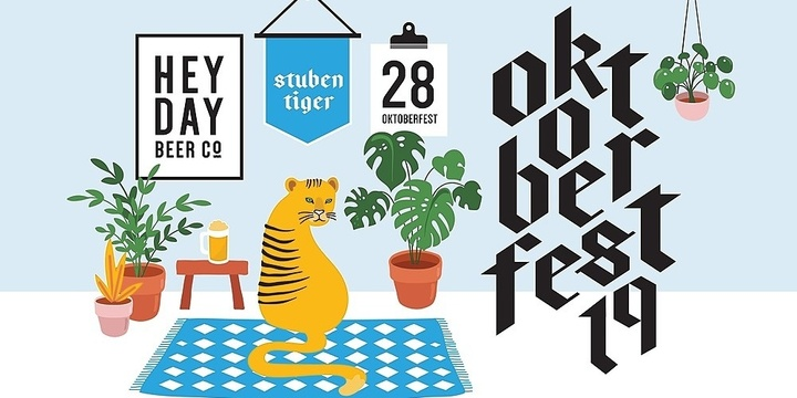 Heyday Beer Co Oktoberfest 2019 Event Banner