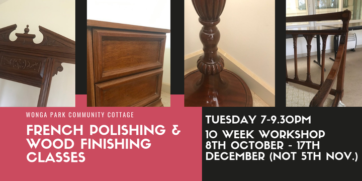 French Polishing - Tuesday Evening Workshop Event Banner