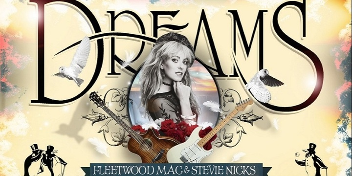 Dreams - Fleetwood Mac & Stevie Nicks Show at The Lord Anson in Orange Event Banner