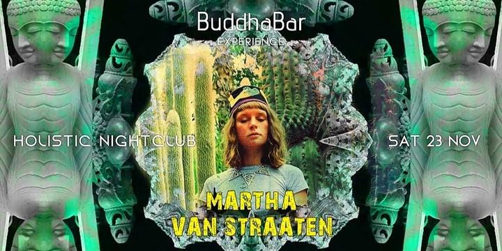 BuddhaBar Experience Featuring Martha Van Straaten Event Banner
