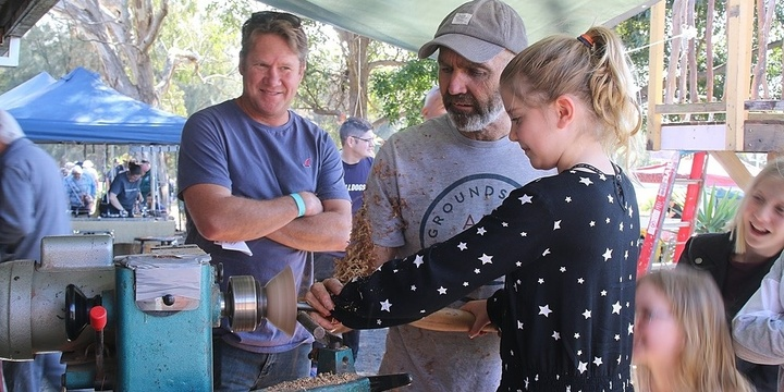 Woodturning with Woodstories @ Illawarra Festival of Wood 2019 Event Banner