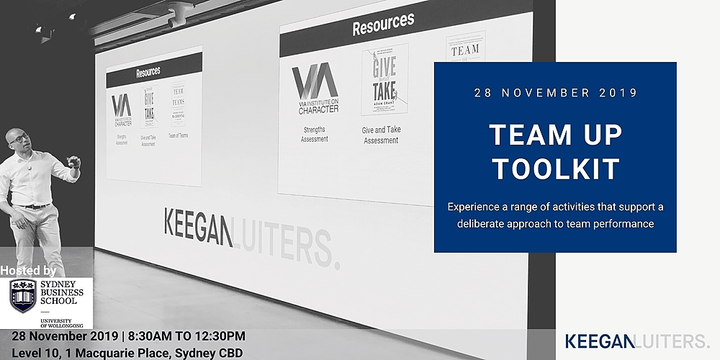Team Up Toolkit Workshop Event Banner