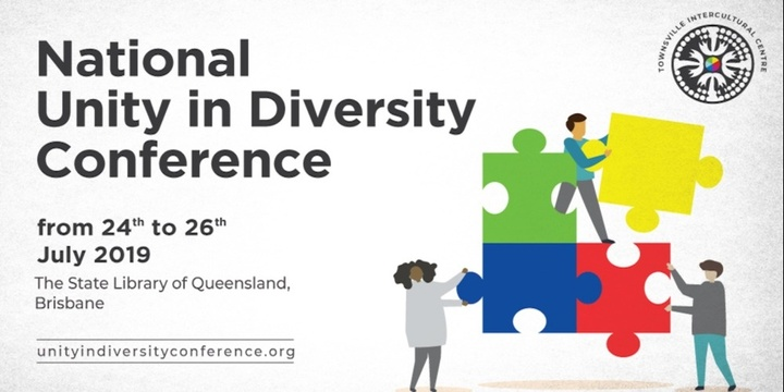 Unity in Diversity Conference Event Banner