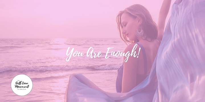 You Are Enough! Event Banner
