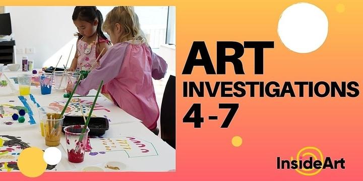 Art Investigations : Term 4 @ Bibra Lake Event Banner