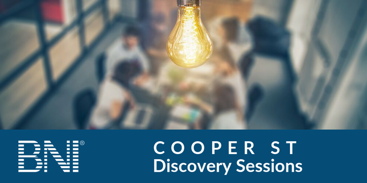 BNI Cooper St Discovery Sessions Event Banner