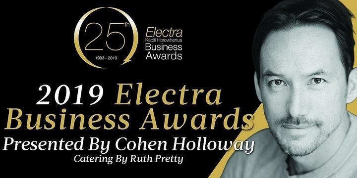 2019 Electra Business Awards Gala Dinner Event Banner
