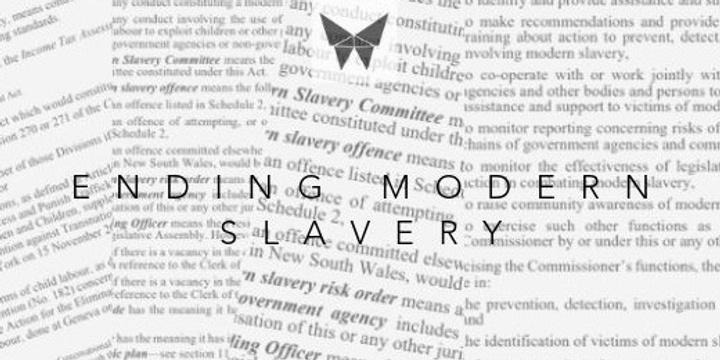 Ethical Business & Modern Slavery Workshop Event Banner