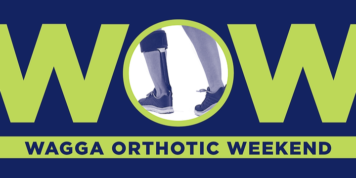 WOW  - Wagga Orthotic Weekend Event Banner