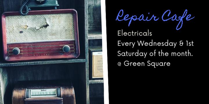 Zetland Repair Cafe - Electricals Event Banner