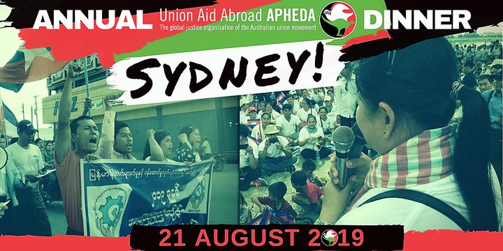 2019 Annual Dinner Sydney Event Banner