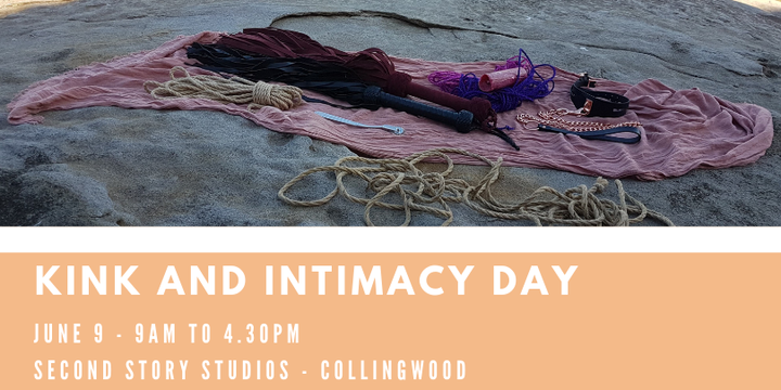 Kink and Intimacy Day Event Banner