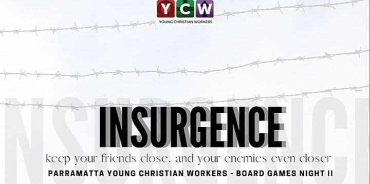 BOARD GAME'S NIGHT: INSURGENCE Event Banner