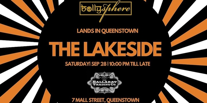 Bollysphere's The Lakeside | Queenstown Event Banner