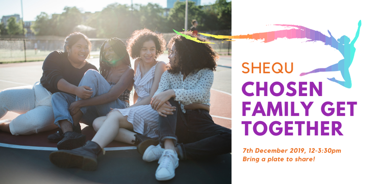 Chosen Family Get Together - SheQu Group Inc Event Banner