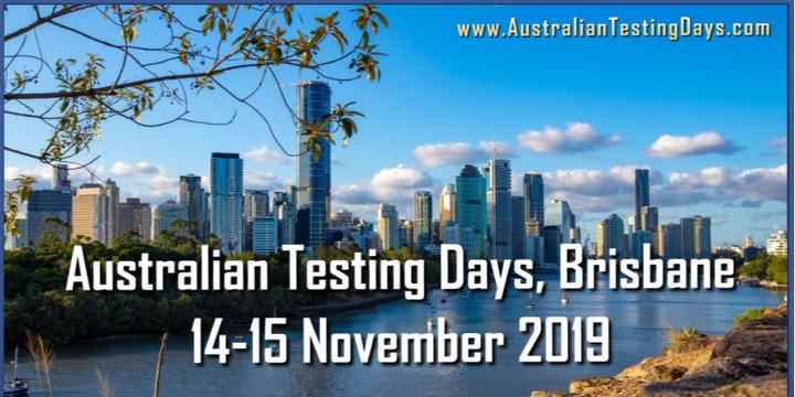 Australian Testing Days Brisbane 2019 Event Banner