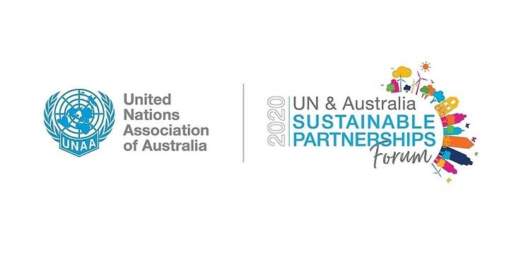 SDGs Showcase: 2020 UN & Australia Sustainable Partnerships Forum Event Banner