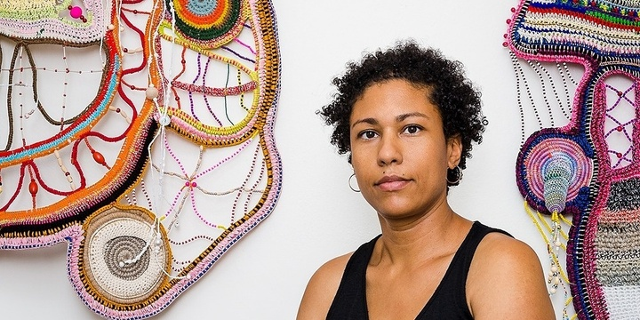 Paula do Prado - Bind and Release - Working with Textiles Event Banner