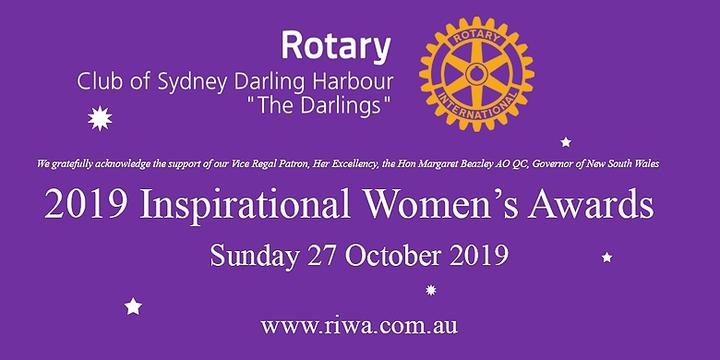 Inspirational Women's Awards 2019 Event Banner