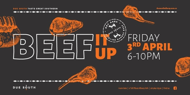 Beef It Up Event Banner