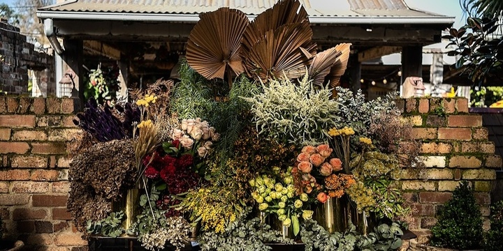 Floral Workshops at The Grounds Event Banner